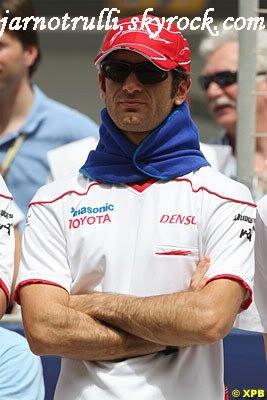 Trulli attristé de ne pas donner Toyota sa première victoire