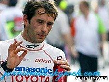 Jarno Trulli de l'Italie à la tête de Lotus F1 liste