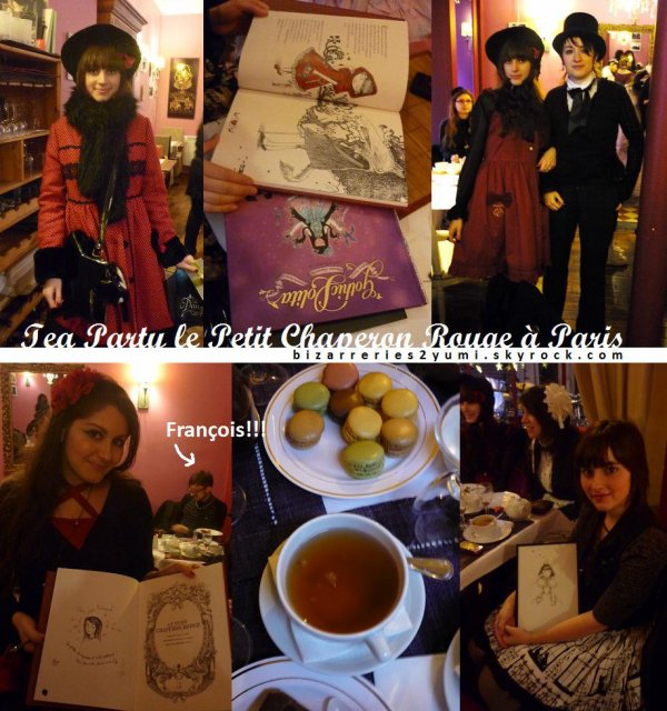 .。oOo。.。oOo。. Les Bizarreries de Yumi .。oOo。.。oOo。.   ♥ Tea Party!!  22/01/11 ♥