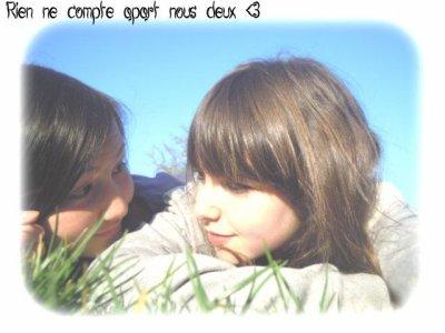 MA MEILLEURE AMIE <3  MON ANGE ; MON COEUR