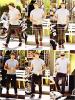Le 28/08/2012 -   Jesse est parti s'acheter une limonade, à West Hollywood, en Californie. J'aime sa tenu, qui est très simple, le chapeau de cow-boy, ses chaussure, il nous a fait un grand top. Top : ✰✰✰✰✰