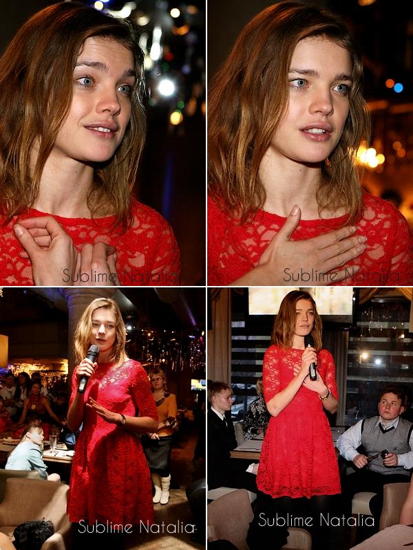 Des nouvelles! Natalia à Moscou pour Naked Heart