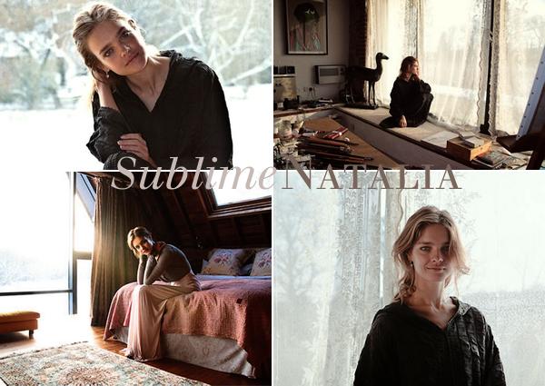Natalia à l'anniversaire de D. Chapman, les pubs du show Etam, rumeurs, photoshoots et pubs Guerlain...