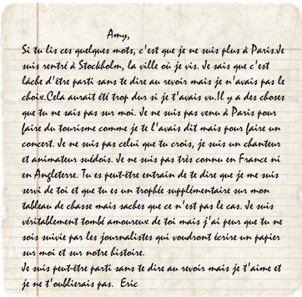 lettre pour son copain Ecrire une lettre a son copain   Modèle de lettre lettre pour son copain