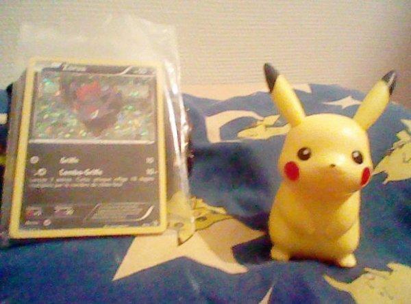8 Janvier 2012, je suis aller à Mc Don et j'ai eu Pikachu!! ♡