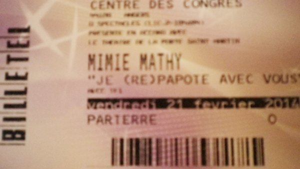 Mimie Mathy je suis fan