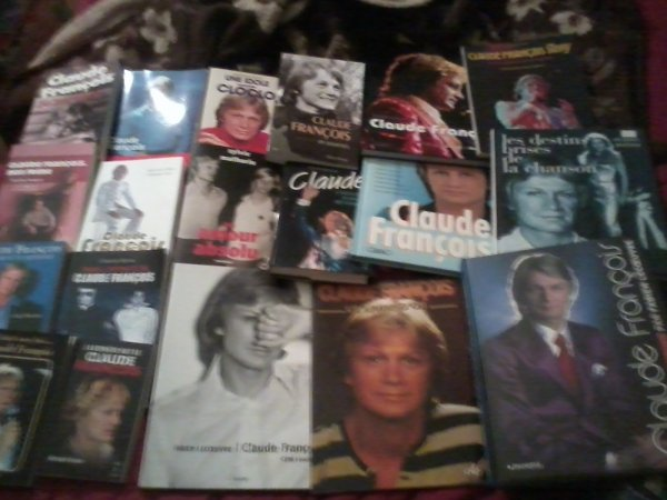 Ma collection Claude François mon idole!!