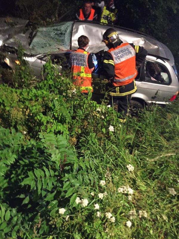 Chevaux en divagation sur la RN13 : le témoignage des victimes de l'accident