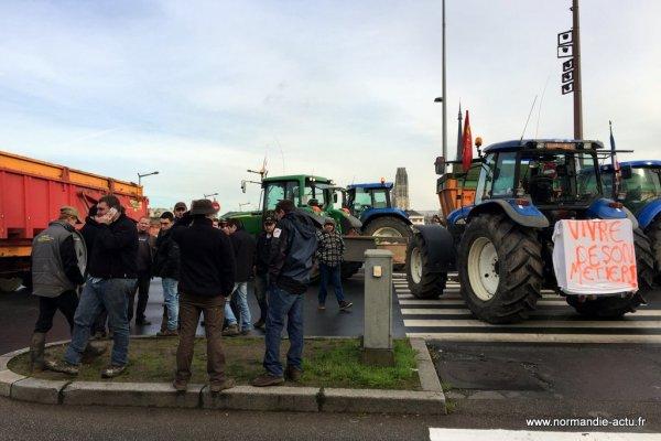 Les agriculteurs de Normandie manifestent à Rouen contre : « une tromperie pour les consommateurs »