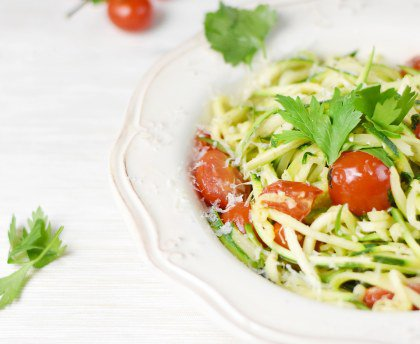 Zoodles / spaghetti de courgettes