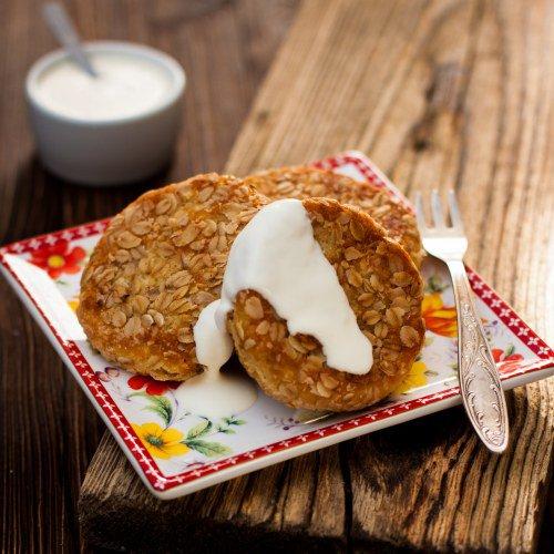 Pancakes Aurélie aux flocons d'avoine