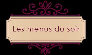Soufflés au chocolat et à la crème de marrons et Salade d'endives, pamplemousse et crevettes