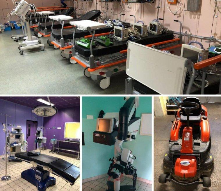 Bloc opératoire, bistouris, tondeuses…. Et si vous achetiez le matériel d'une clinique médical ?