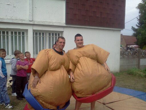 nos 2 sumo Alex et Cyril