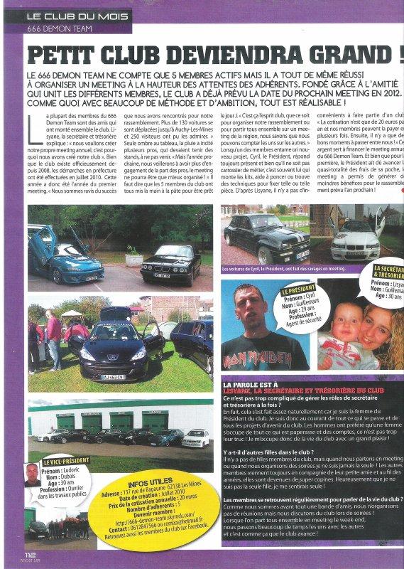 club du mois dans boost magazine