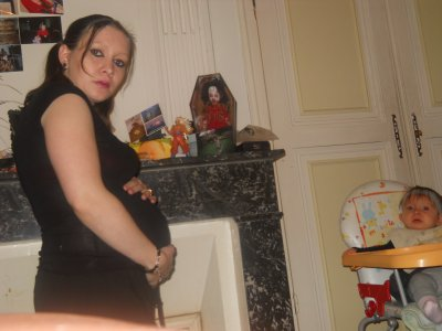 ma deuxième grossesse , déja 6 mois
