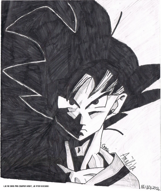 Dessin Goku Its Over Nine Thousand