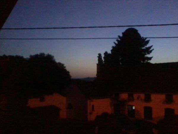 coucher de soleil de ma chambre