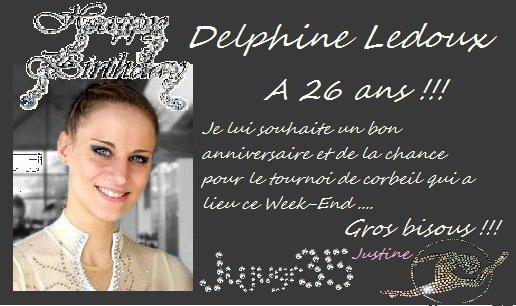 Joyeux anniversaire Delphine !!!!!