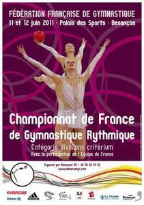 Championnat de France DC et coupe villanchers le 11 et 12 juin à Besançon