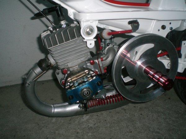 Moteur Airsal 72.25cc