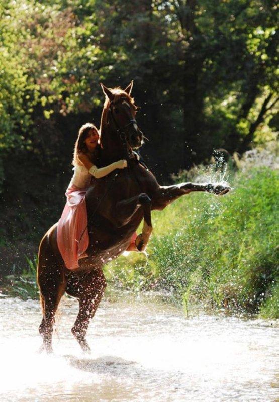 Les chevaux <3 toute une vie Photographie pro manequin