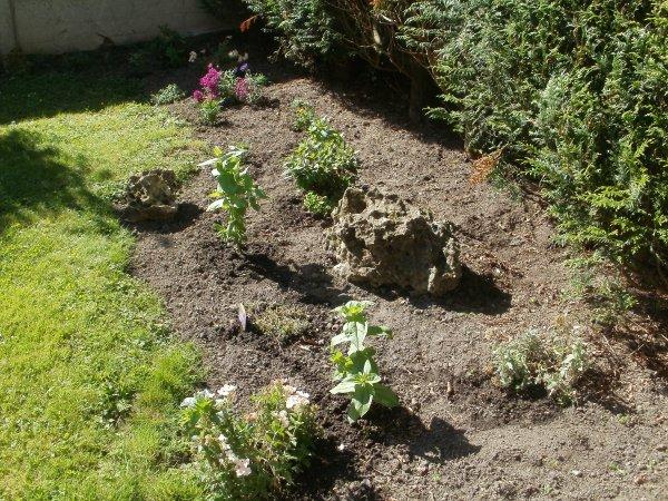 Un jardin qui avance