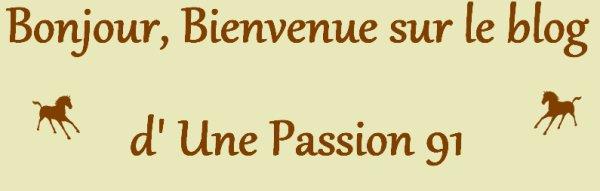 Une passion ...