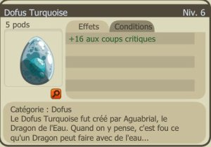 Achat Dofus Turquoise