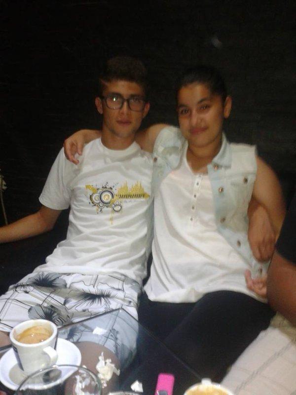 avec ma cousine <3