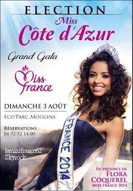 Flora  dans  Le Parisien / Flora dans Télé Star  / Flora sera Dimanche à l'élection de Miss Côte d'Azur