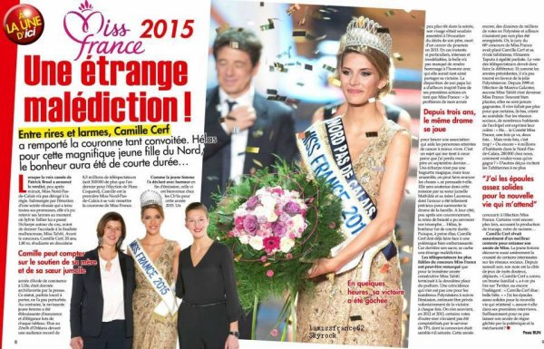 Camille a la soirée Veuve Clicquot  /  Camille visite locaux Est Républicain / Camille dans  ici Paris