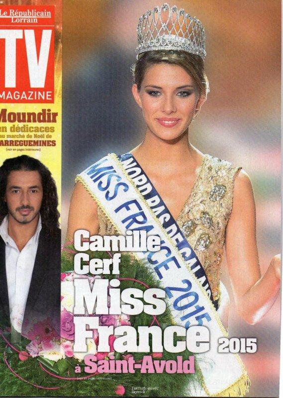 Camille à Saint-Avold ,séance de dédicaces : La suite  / Camille dans Tv Mag du 21 Décembre