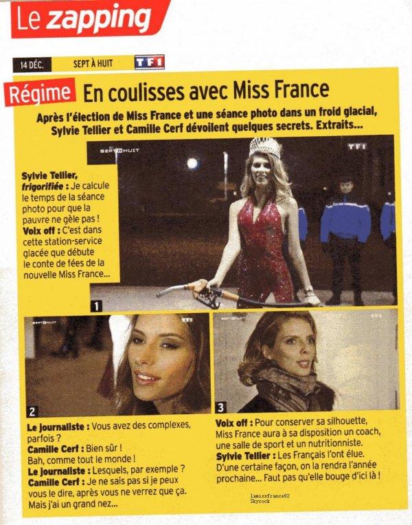 Camille dans la Presse