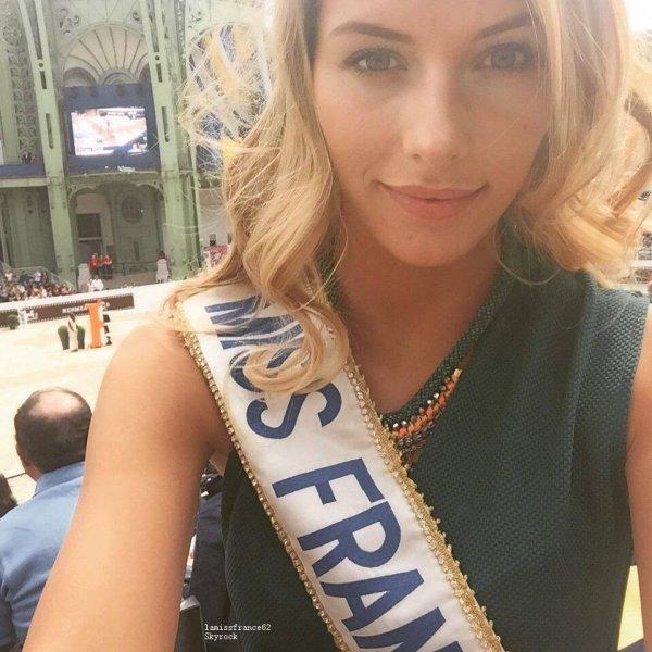 Camille  au Saut Hermès au Grand Palais le 10-04-2015