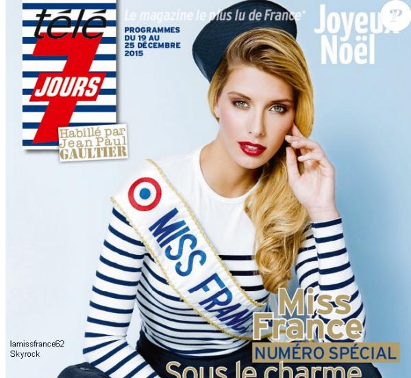 Camille dans télé 7 jours /  Les 31 miss à une semaine de l'élection les Miss se préparent / Astuce Beauté n° 8  : Les must-have après le sport avec Miss France 2015