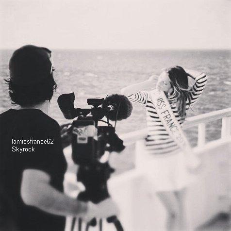 Nouvel an chinois  avec Iris le e 10 février / Iris en interview dans Voici / Iris en shooting photo  lors de sa croisieres