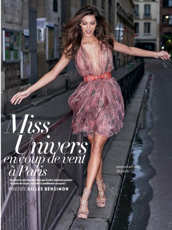 Iris dans le Paris Match