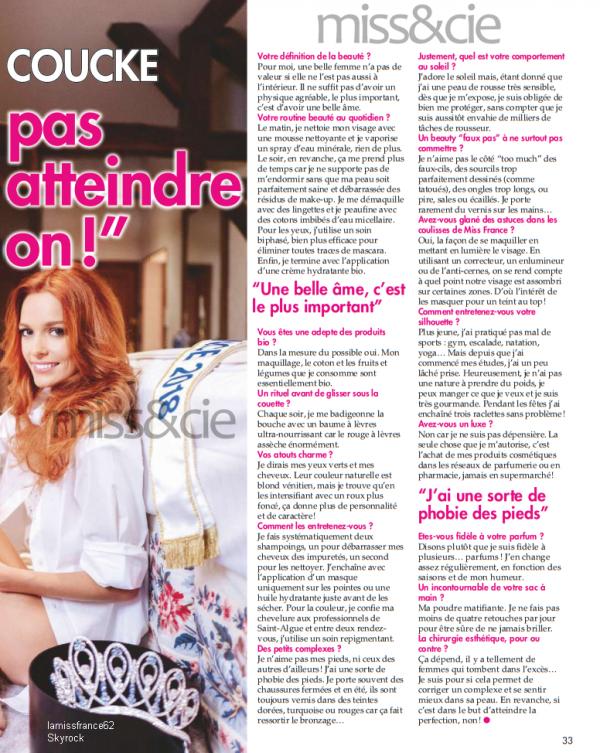 Maeva dans le magazine   ici Paris