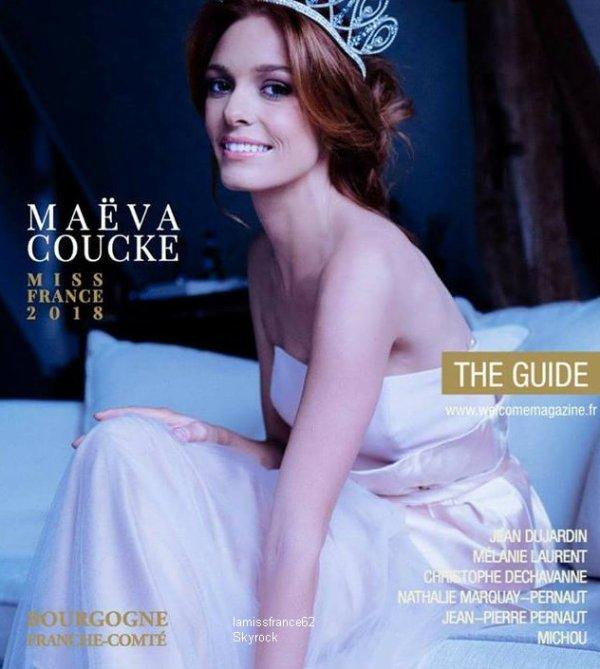Maëva  Touche pas a mon poste sur C8 , Maëva dans le magazine  Welcome Mag