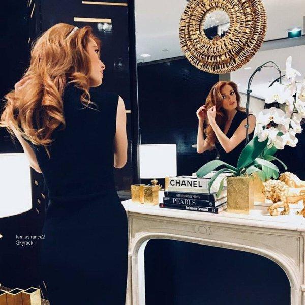 Maeva au  le nouvel an chinois., Maeva  essayage de bijoux chez Chanel , Hair & Make Up