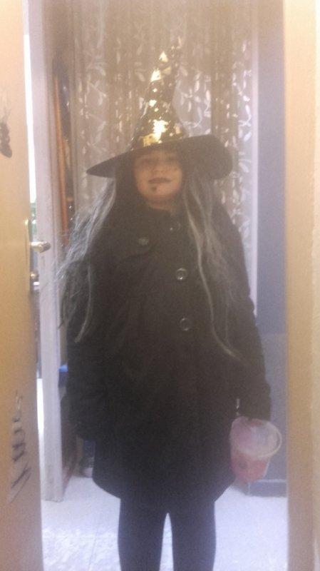 Halloween avec Melody 8ans