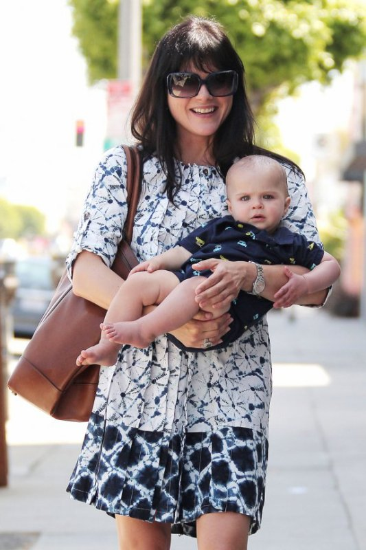 Selma Blair et son fils Arthur