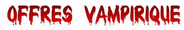 Newsletter Vampirique