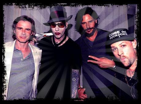 Sam Trammel,  Marilyn Manson, Joe Manganiello