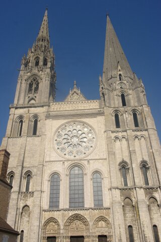 quelque photo que j'ai faite de la cathédrale de Chartres