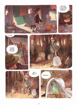 Le zoo pétrifié - Chamblain & Neyret - Les carnets de Cerise