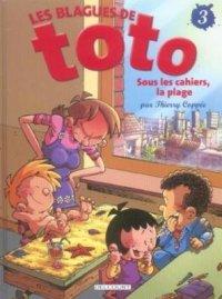 Sous les cahiers, la plage - Coppée & Lorien - Les blagues de Toto