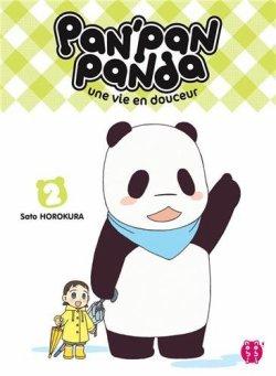 Pan'pan Panda : Une vie en douceur - Sato Horokura - Tome 2