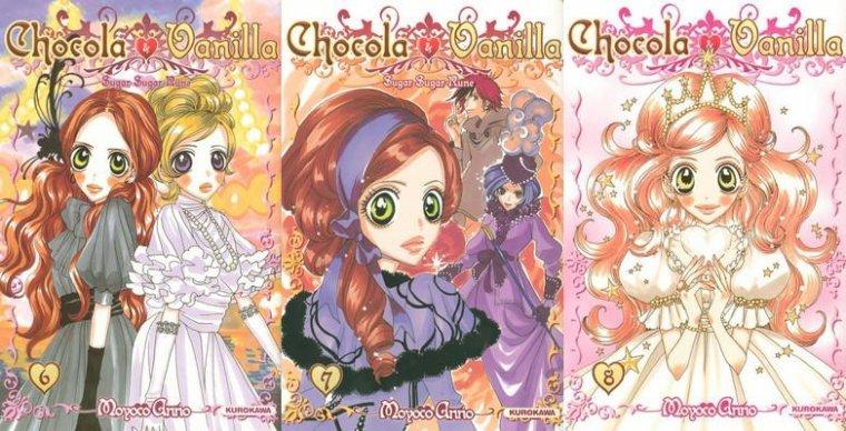 Chocola et Vanilla - Moyoco Anno - Tomes 6, 7 et 8